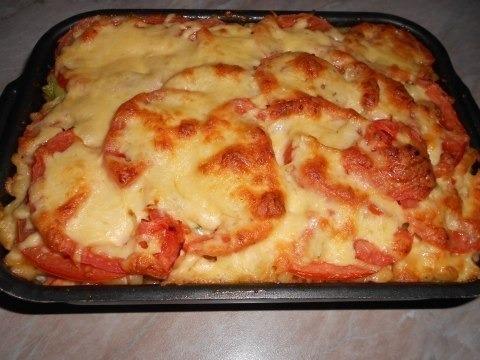 спагетти в духовке рецепт с фото